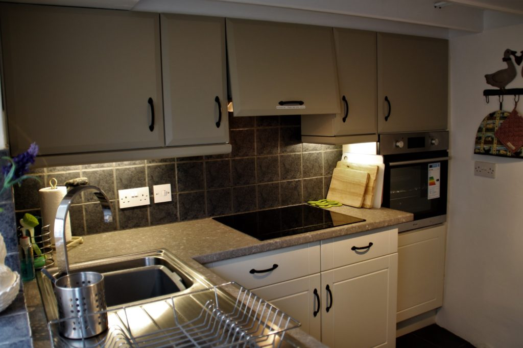 Fully equipped new kitchen